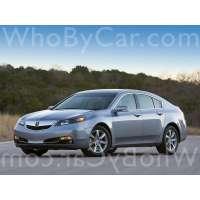 Поколение Acura TL IV рестайлинг
