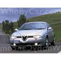 Поколение автомобиля Alfa Romeo 156 седан