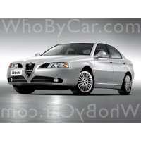 Поколение Alfa Romeo 166 I рестайлинг
