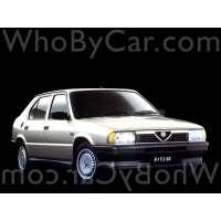 Поколение Alfa Romeo 33 I седан рестайлинг