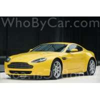 Поколение Aston Martin V8 Vantage III купе
