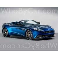 Поколение Aston Martin V12 Vanquish II родстер