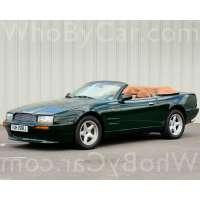 Поколение Aston Martin Virage I кабриолет