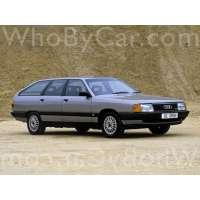 Поколение Audi 100 III (C3) 5 дв. универсал рестайлинг