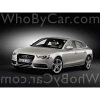 Поколение Audi A5 I лифтбек рестайлинг
