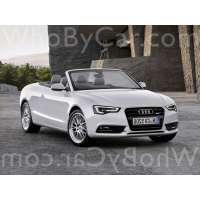 Поколение Audi A5 I кабриолет рестайлинг