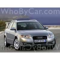 Поколение Audi A4 III (B7) 5 дв. универсал