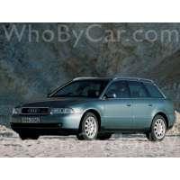 Поколение Audi A4 I (B5) 5 дв. универсал рестайлинг
