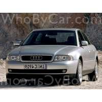 Поколение Audi A4 I (B5) седан рестайлинг