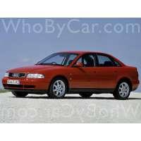 Поколение Audi A4 I (B5) седан