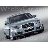 Поколение Audi A6 III (C6) седан