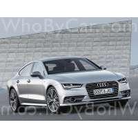 Поколение Audi A7 I рестайлинг