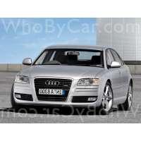 Поколение Audi A8 II (D3) 2 рестайлинг