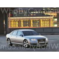 Поколение Audi A8 II (D3) рестайлинг