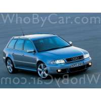 Поколение Audi RS4 I (B5)