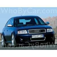 Поколение Audi RS6 I (C5) седан