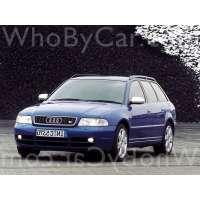 Поколение Audi S4 I (B5) 5 дв. универсал