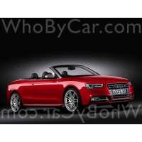 Поколение Audi S5 I кабриолет рестайлинг