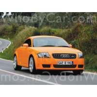 Поколение Audi TT I (8N) купе рестайлинг