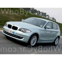 Поколение BMW 1er I (E87/E81/E82/E88) 5 дв. хэтчбек рестайлинг