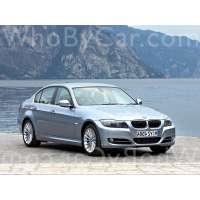 Поколение BMW 3er V (E9x) седан рестайлинг