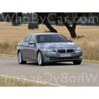 Поколение автомобиля BMW 5er VI (F10/F11/F07) седан