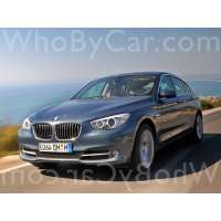 Поколение автомобиля BMW 5er VI (F10/F11/F07) 5 дв. хэтчбек