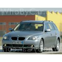 Поколение автомобиля BMW 5er V (E60/E61) 5 дв. универсал