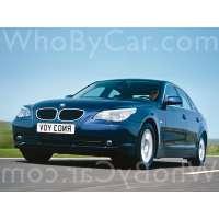 Поколение автомобиля BMW 5er V (E60/E61) седан
