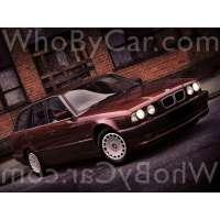Поколение BMW 5er III (E34) 5 дв. универсал