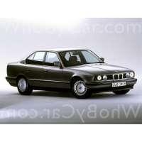 Поколение BMW 5er III (E34) седан