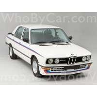 Поколение автомобиля BMW 5er I (E12) рестайлинг