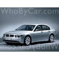 Поколение BMW 7er IV (E65/E66)