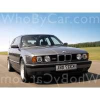 Поколение BMW M5 II (E34) 5 дв. универсал