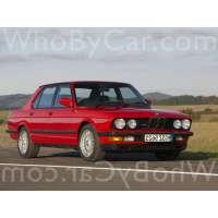 Поколение BMW M5 I (E28)