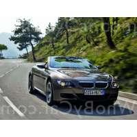 Поколение автомобиля BMW M6 II (E63/E64) кабриолет