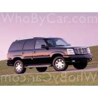 Поколение Cadillac Escalade II 5 дв. внедорожник