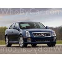 Поколение Cadillac STS I