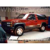 Поколение Chevrolet Blazer K5 III