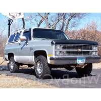 Поколение Chevrolet Blazer K5 II