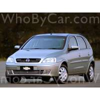 Поколение Chevrolet Corsa 5 дв. хэтчбек