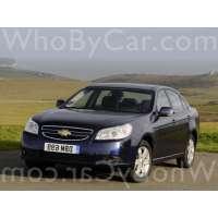 Поколение Chevrolet Epica I рестайлинг