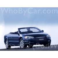 Поколение Chrysler Sebring II кабриолет рестайлинг