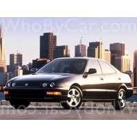 Поколение Acura Integra III седан