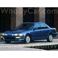 Поколение Acura Integra II седан