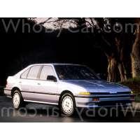Поколение Acura Integra I 5 дв. хэтчбек