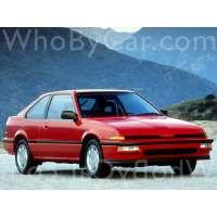 Поколение Acura Integra I 3 дв. хэтчбек