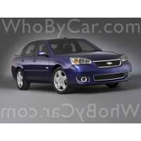 Поколение Chevrolet Malibu VI седан рестайлинг