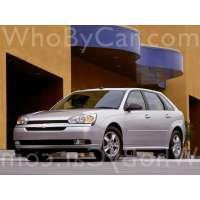 Поколение Chevrolet Malibu VI 5 дв. хэтчбек