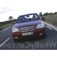 Поколение Chevrolet Nubira седан